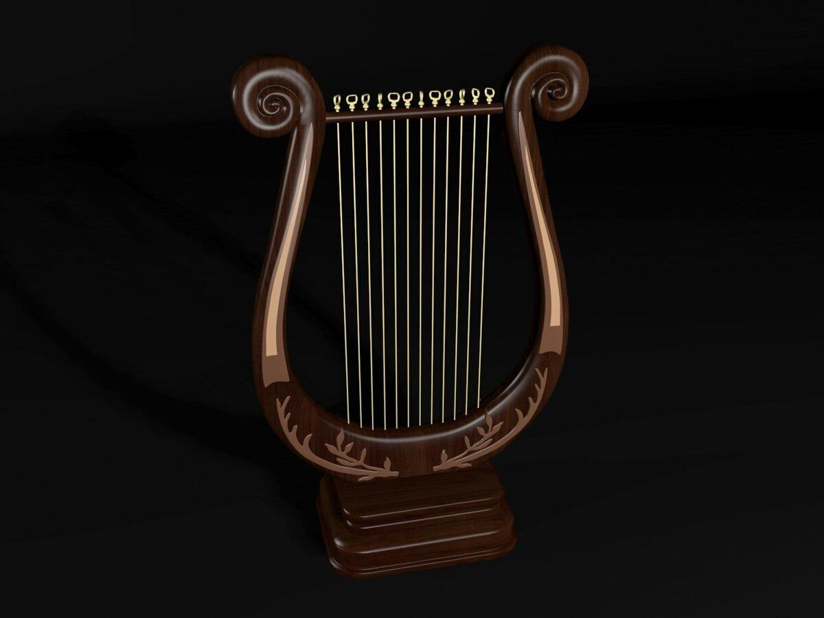 Картинка инструмента лиры