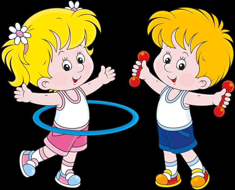 Веселые картинки зарядка для детей