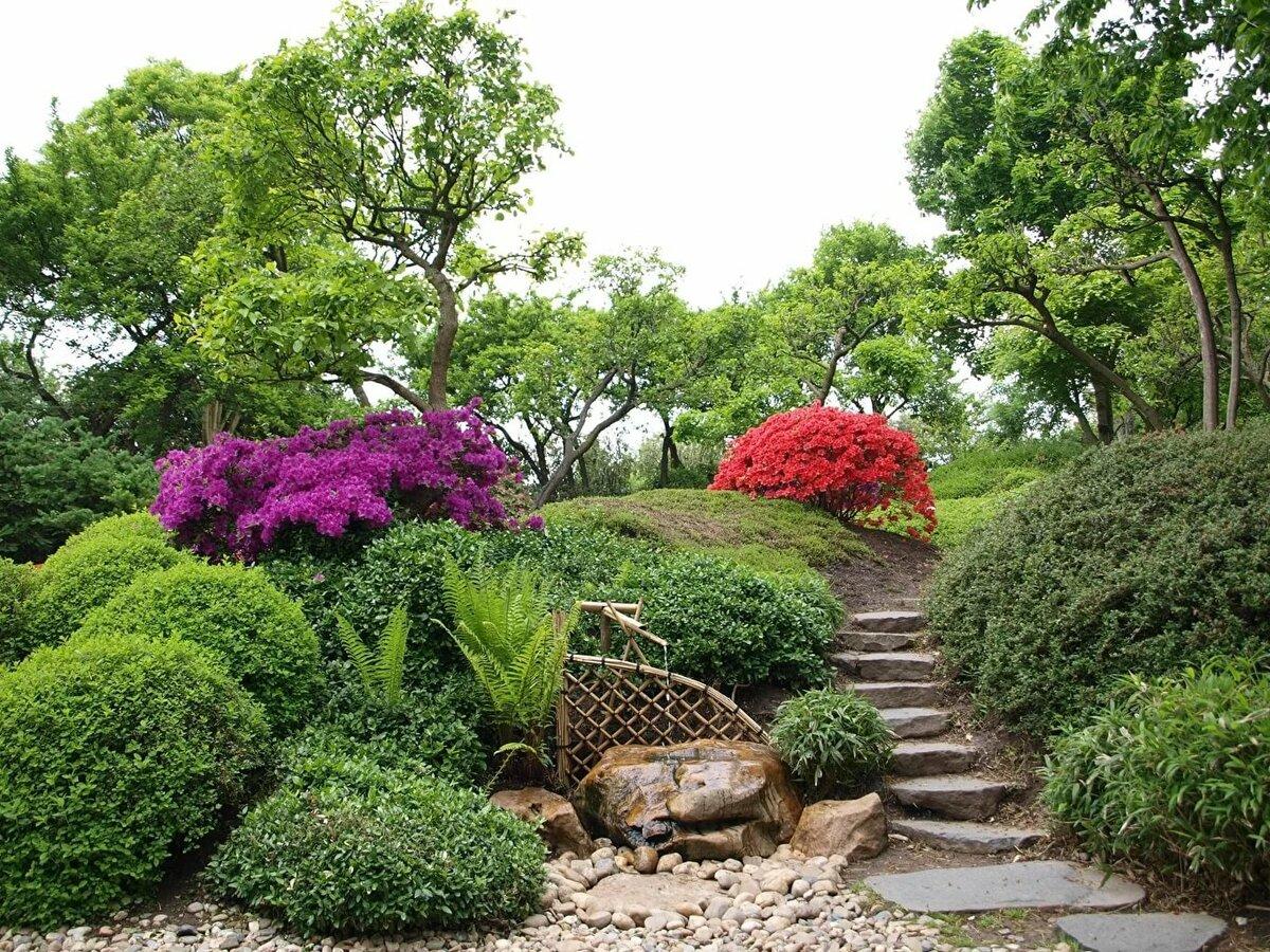 пейзажный стиль в ландшафтном дизайне фото франции