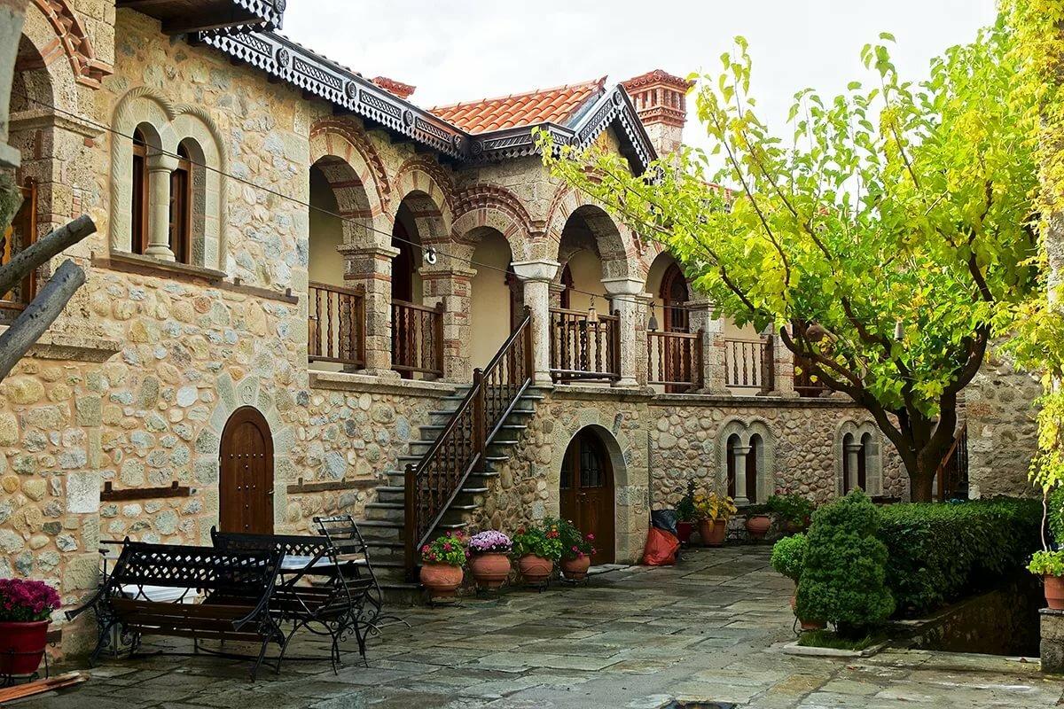 картинки греческий монастырь хобби