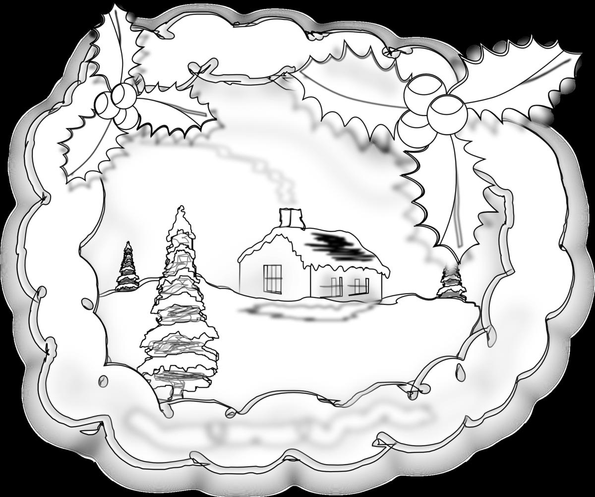 Открытка с рождеством христовым нарисовать