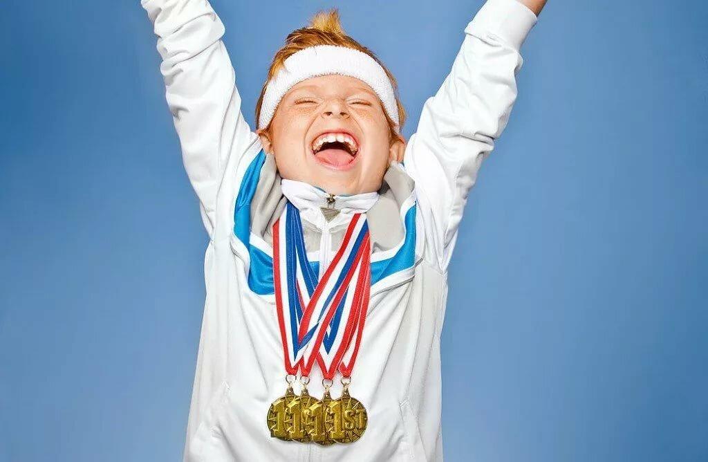 Картинки малышей спортсменов