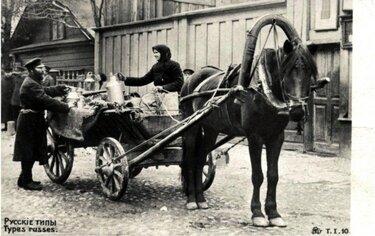 телега лошадь 19 века
