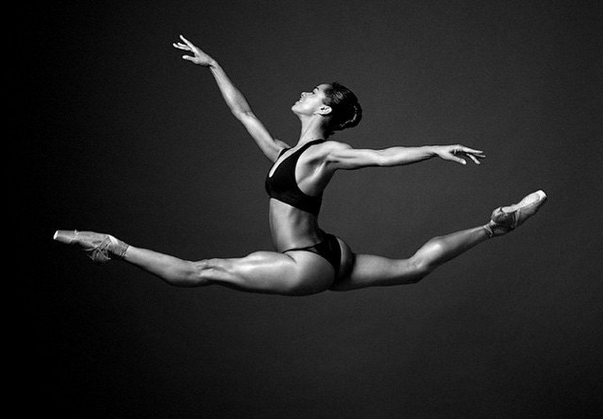 только поза балерина фото вошел