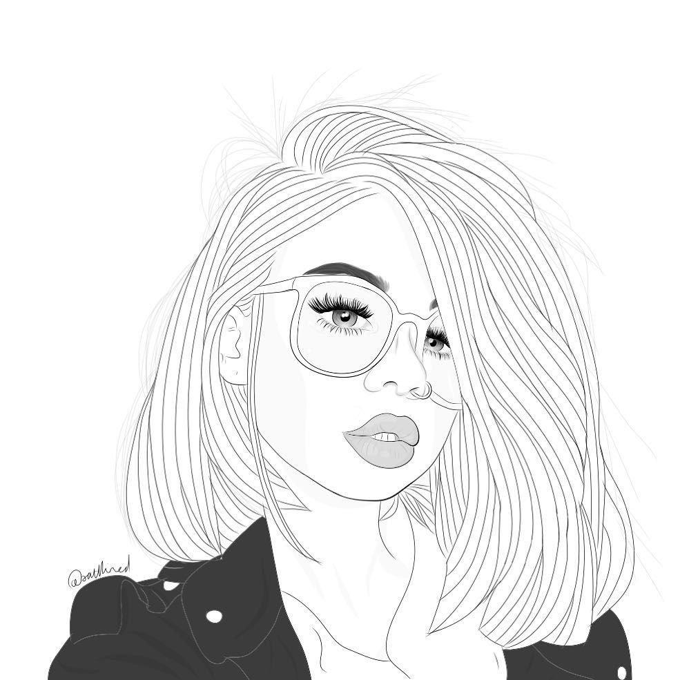Мужу, рисованные черно белые картинки