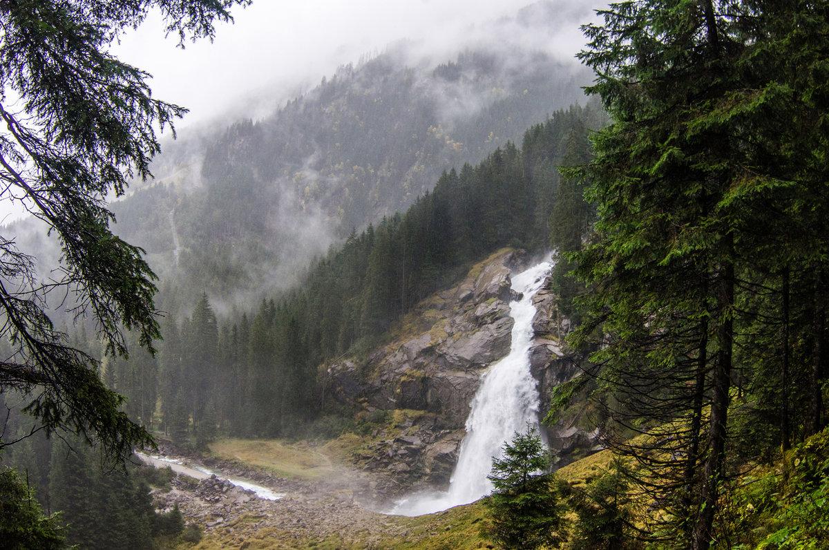 Картинки горы в дождь