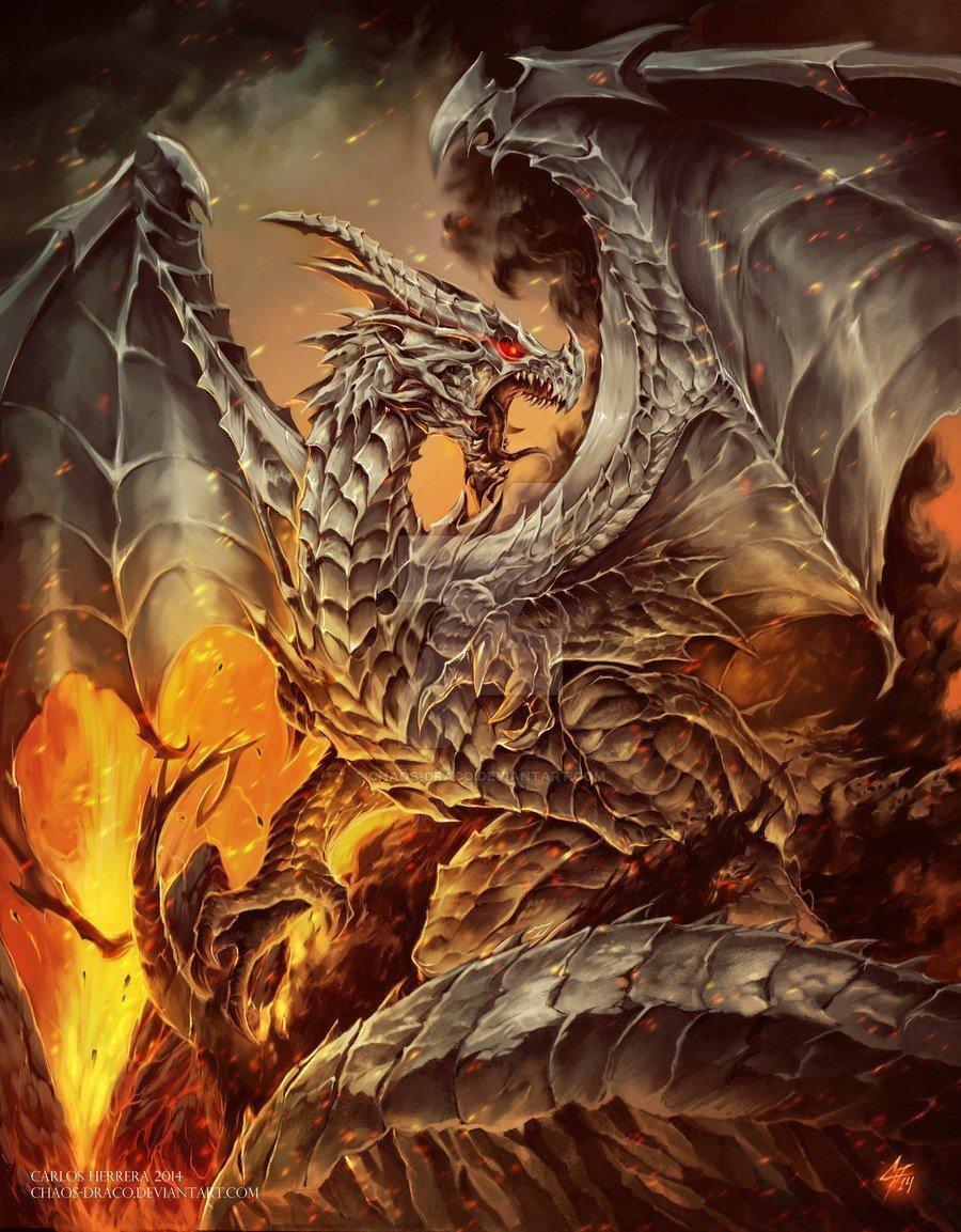 супер картинки фентези с драконами пик