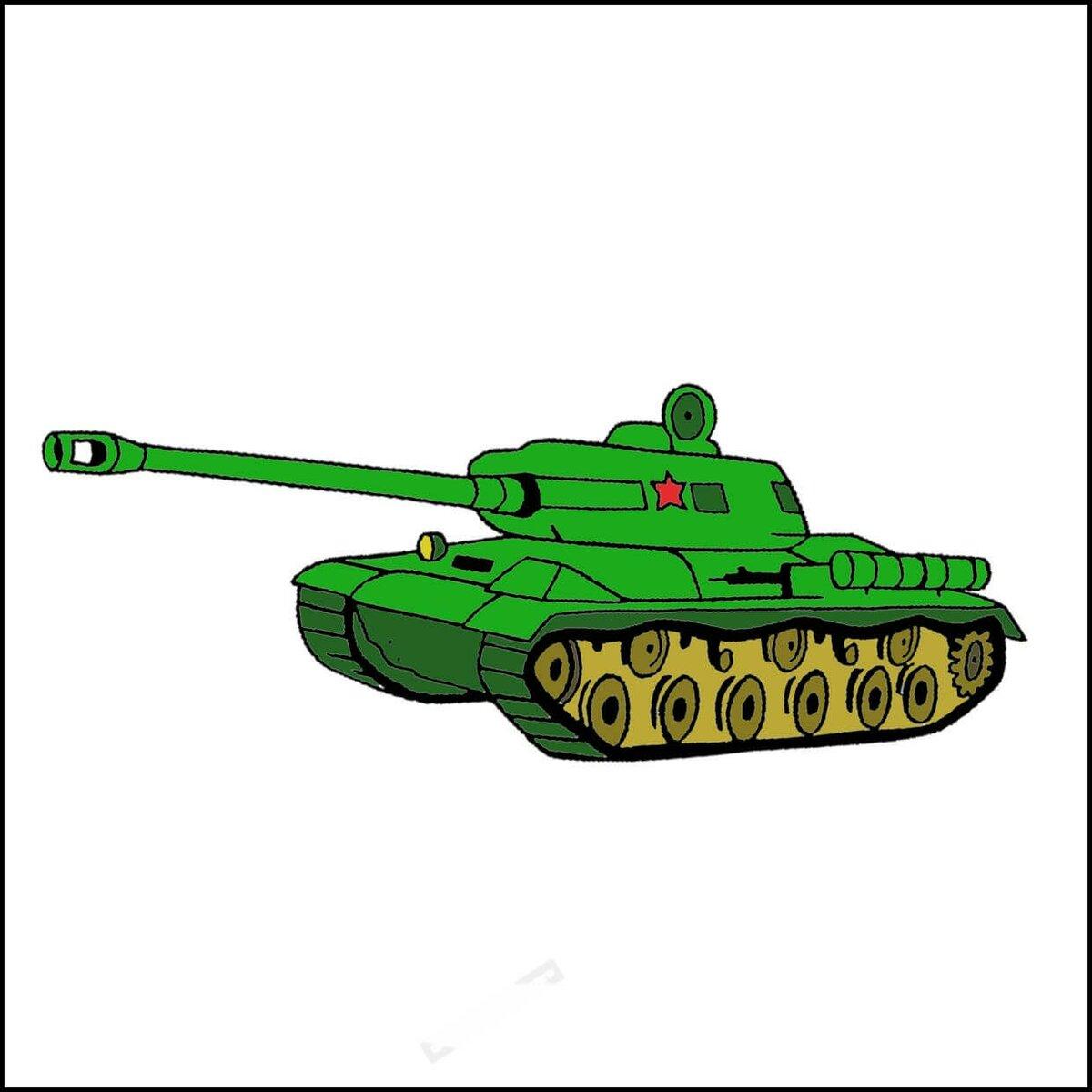 картинки военных танков для доу одно