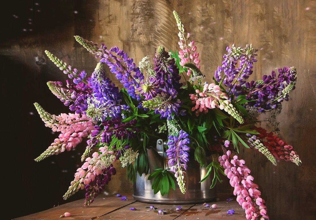 картинки люпины в вазе состав салата