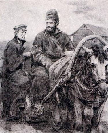 иллюстрация к рассказу чехова пересолил