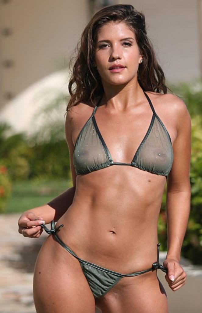 Jenna Presley Mesh Bikinis Swimwear Tops Women Fashion Swimsuits Mylust 1