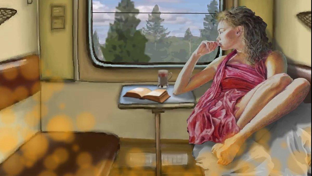 смотреть сексуальное путешествие в поезде - 11