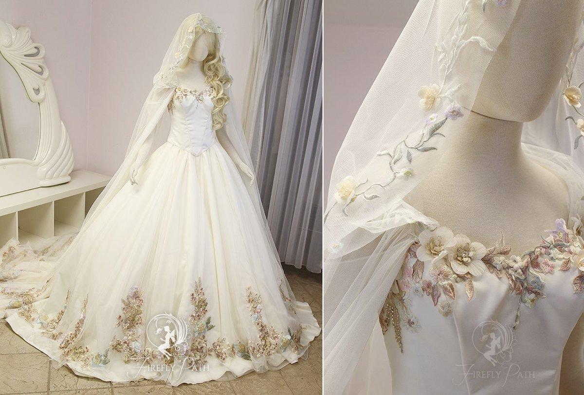 Fascinating Princess Zelda Wedding Dress Within Firefly Path Favourites Paolina86 On Deviantart