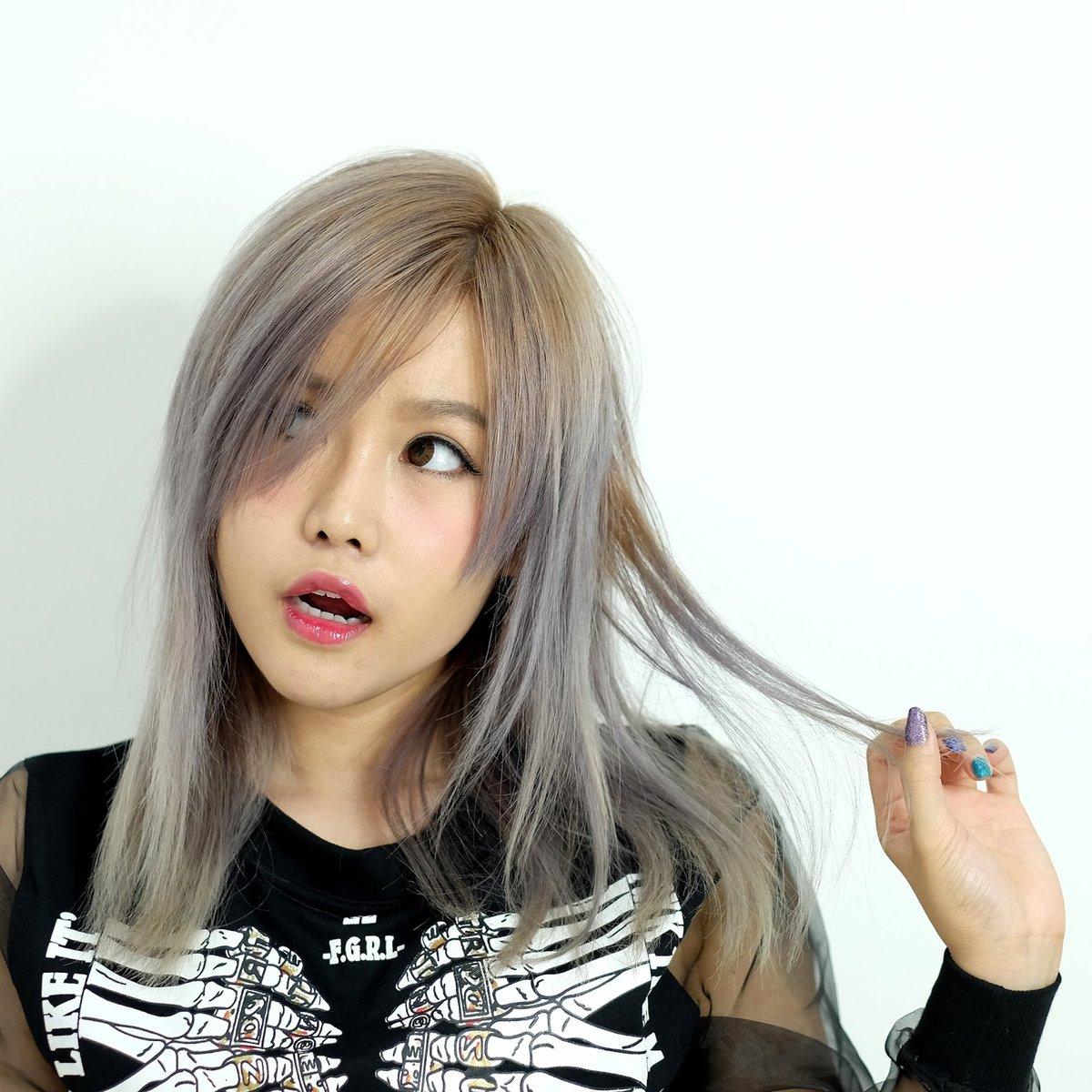ней фото изменения цвета волос у азиаток тем