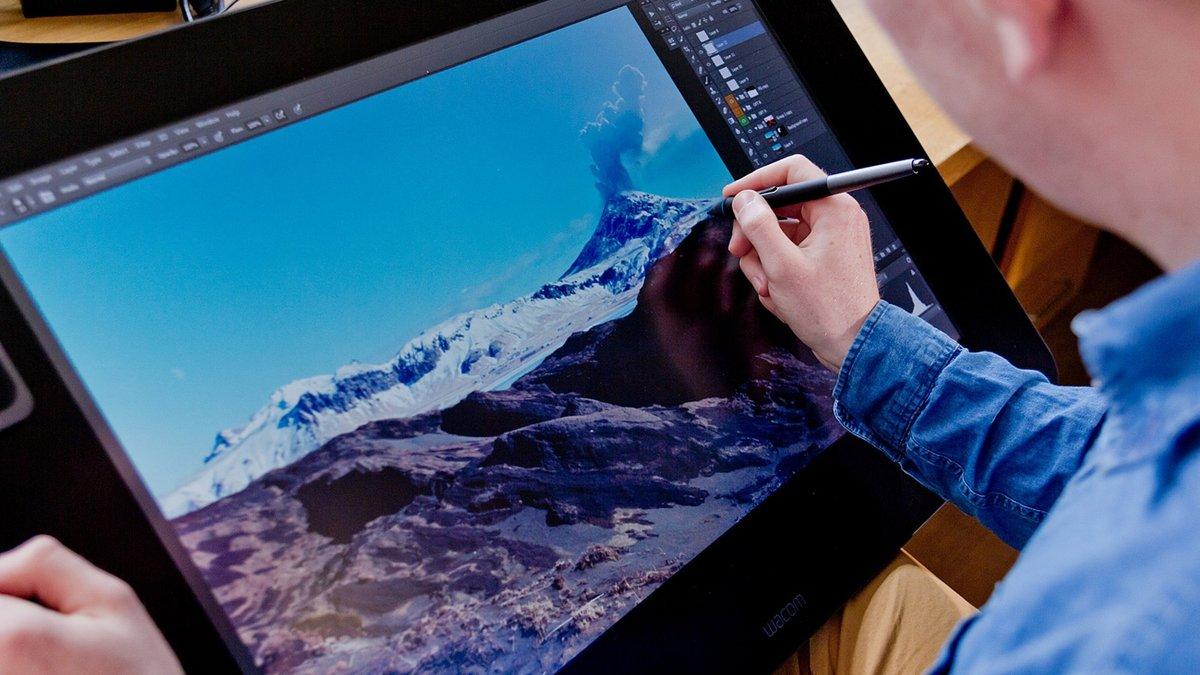 фотографии, рисование на компьютере картинка этот