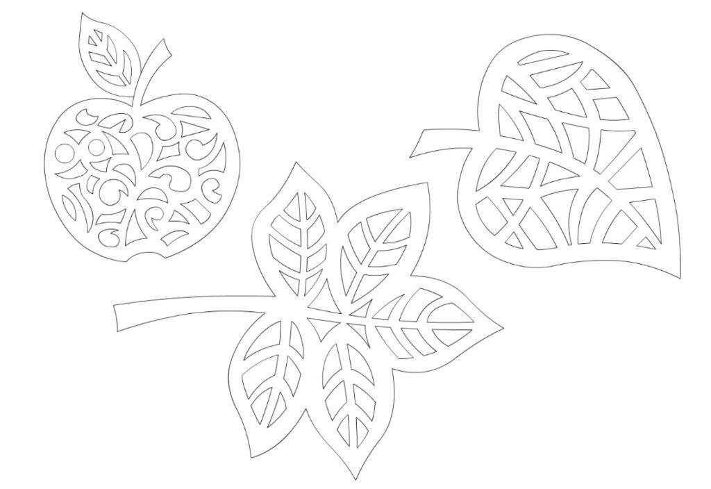 Вытынанки на 1 сентября шаблоны распечатать, свадебные