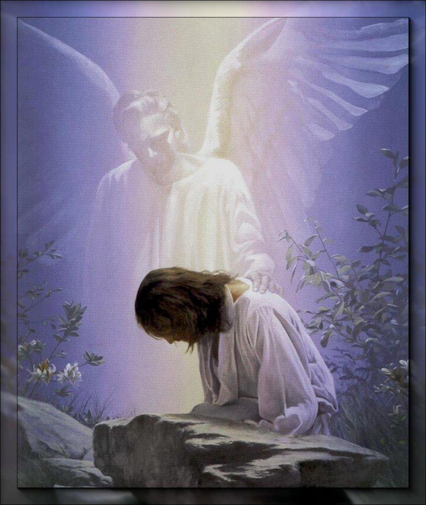 Гифки ангел хранитель за спиной