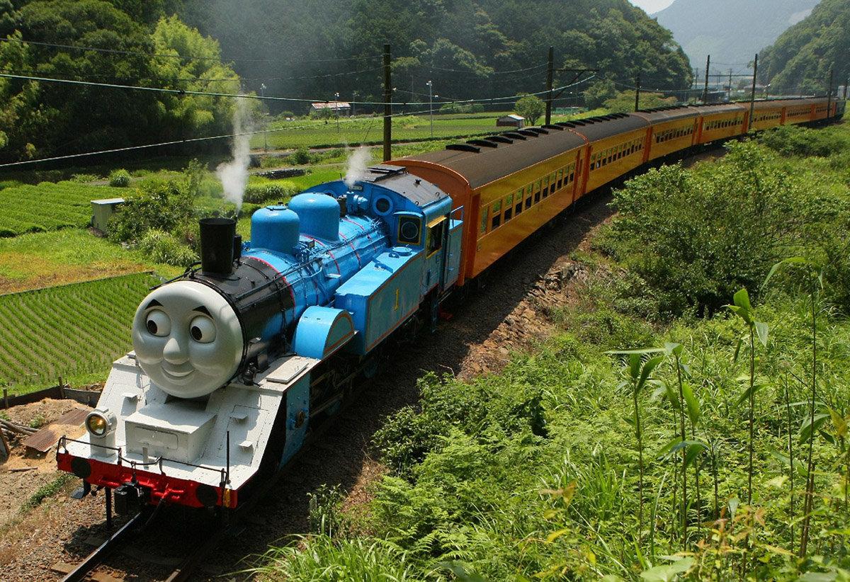 Поезд веселые картинки