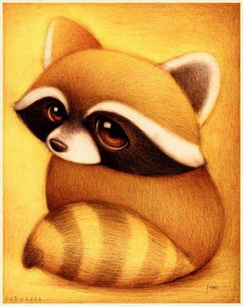 Днем рождения, смешные и милые картинки животных нарисованные