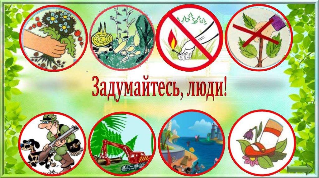 Картинки охрана природы для детей, открытки днем рождения