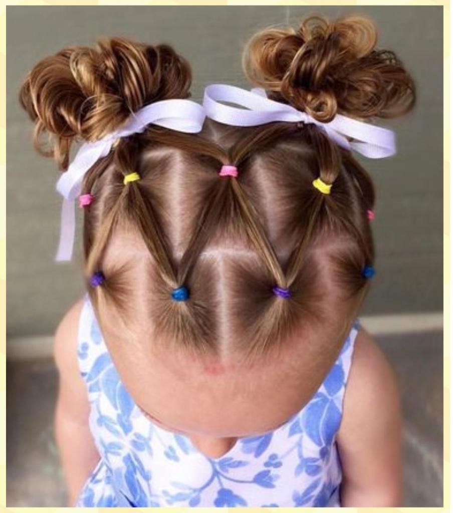 картинки из волос из хвостиков для коротких волос принадлежат
