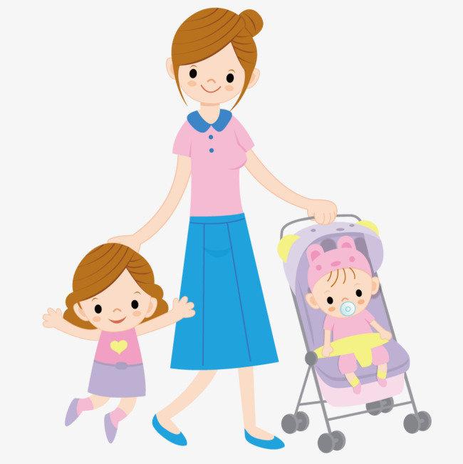 Картинках, мама с детьми картинки для детей