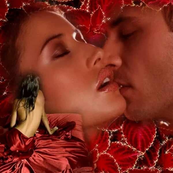 Спокойной ночи с поцелуем картинки гиф