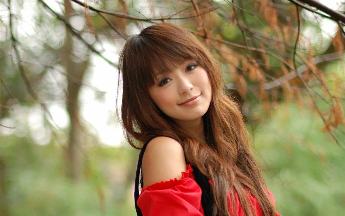 Картинка красивая девушка японка