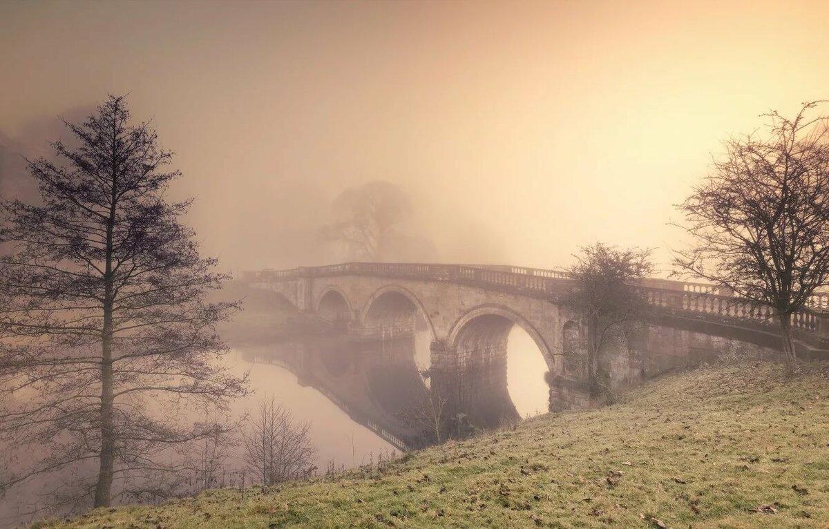 туман и архитектура фотографии часто