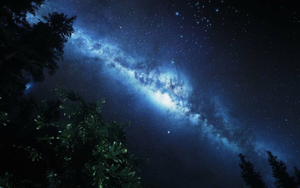 фото звездного неба из космоса сама набережная