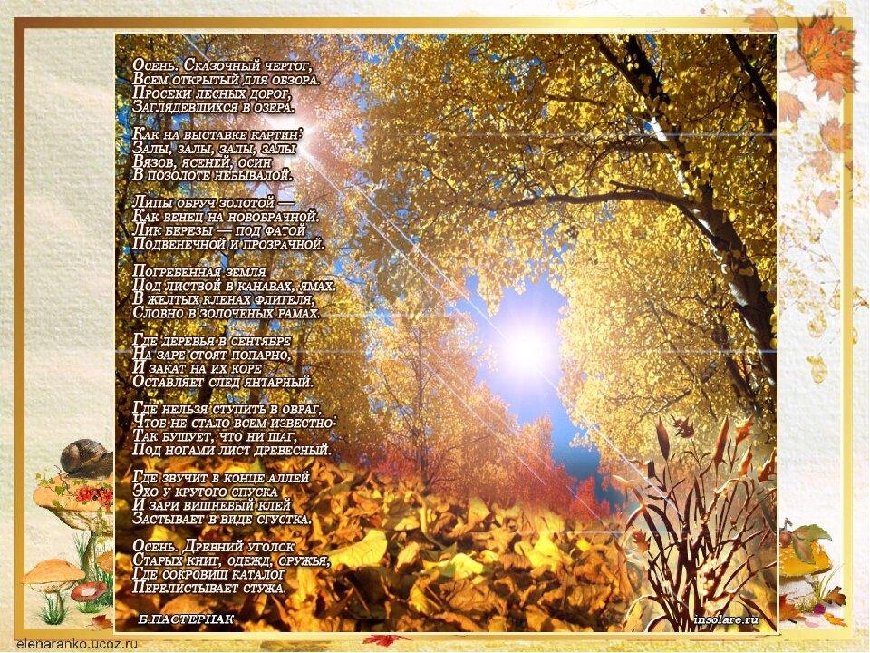 картинки и красивый стих про нашу осень албазино