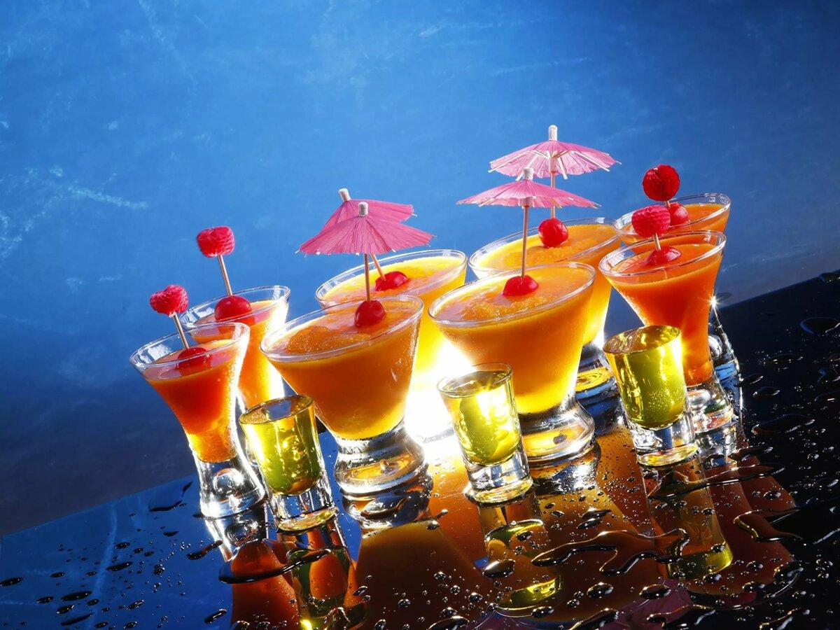 Открытки напитки