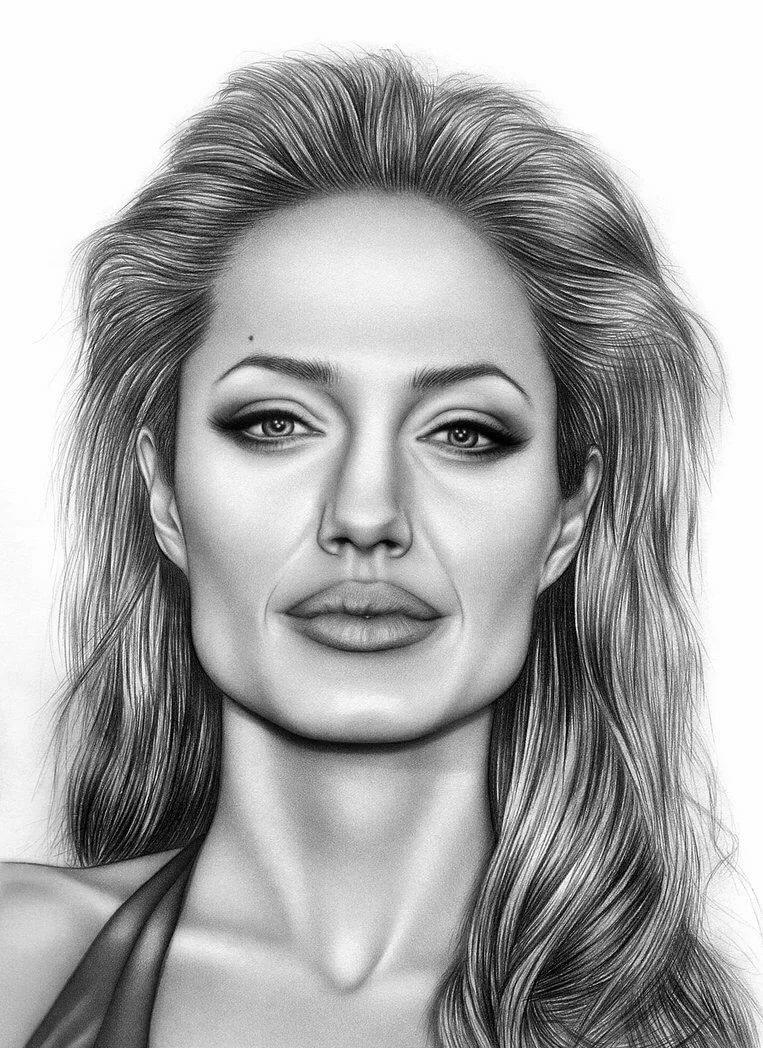 Картинки карандашом портреты людей