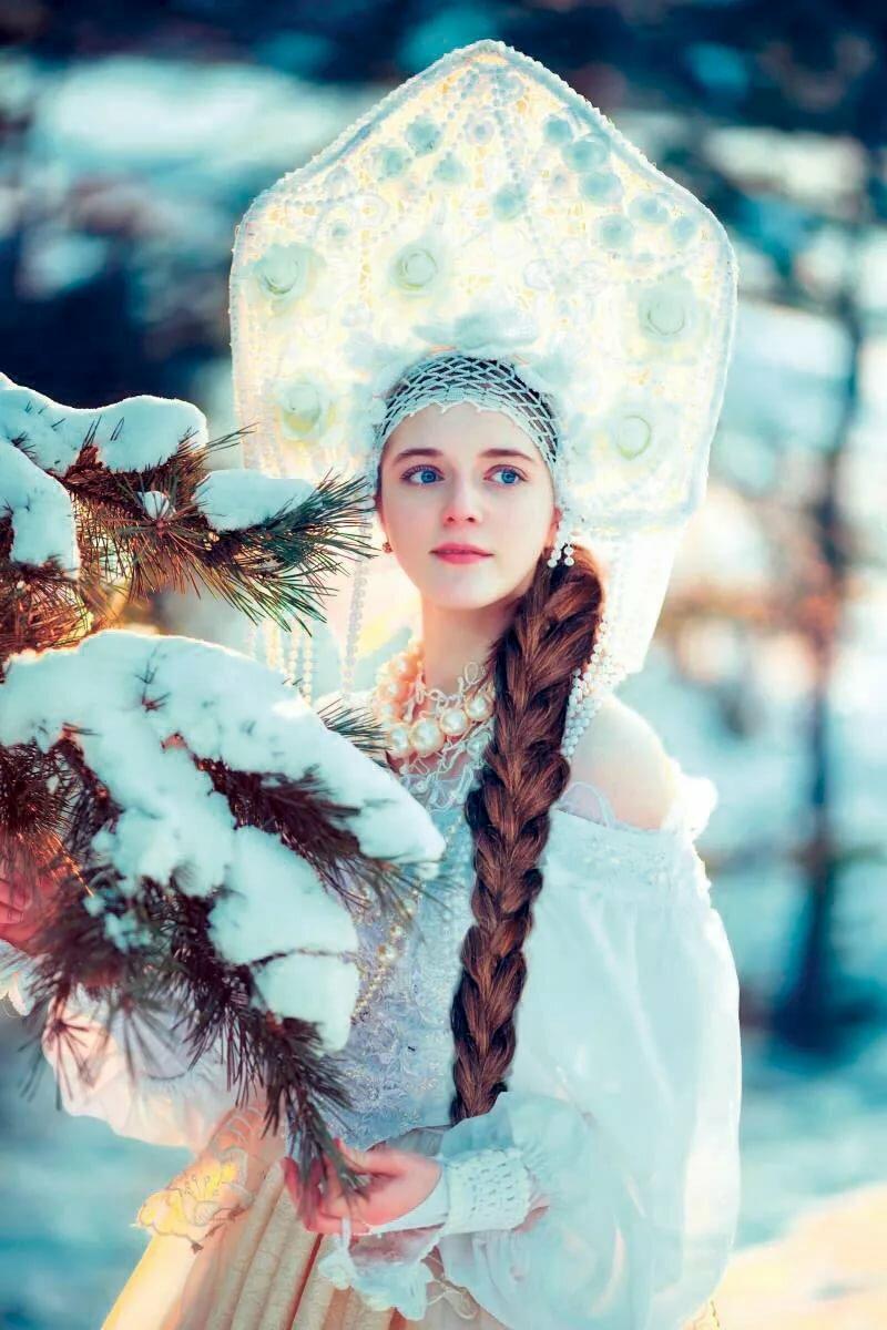 фото красивых русских снегурочек мытье жесткой воде