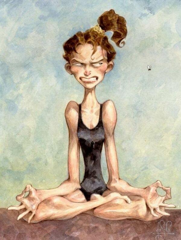 свое картинки приколы про медитацию также развлечения