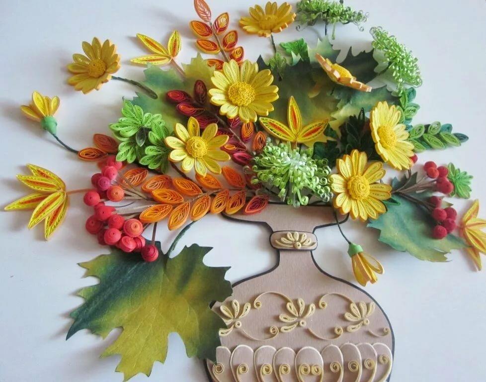 Объемные картинки осень