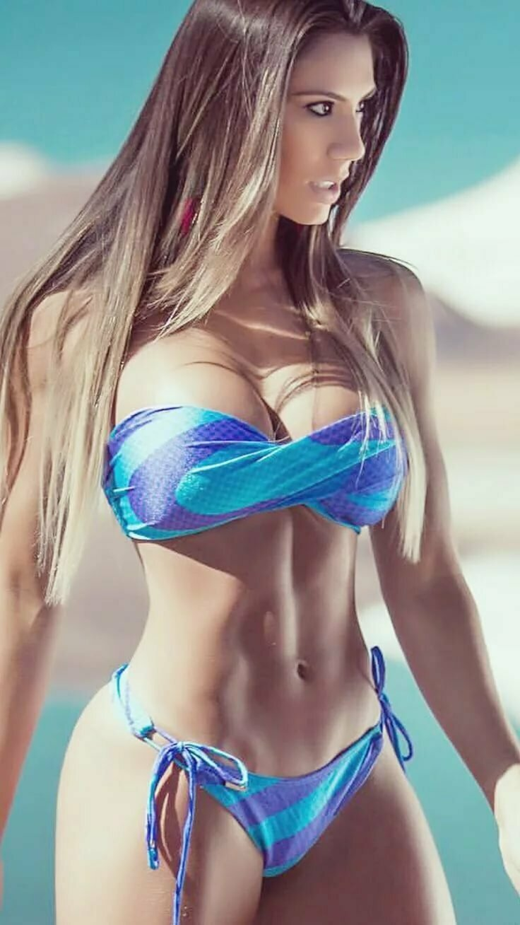 Skimpy bikini girls