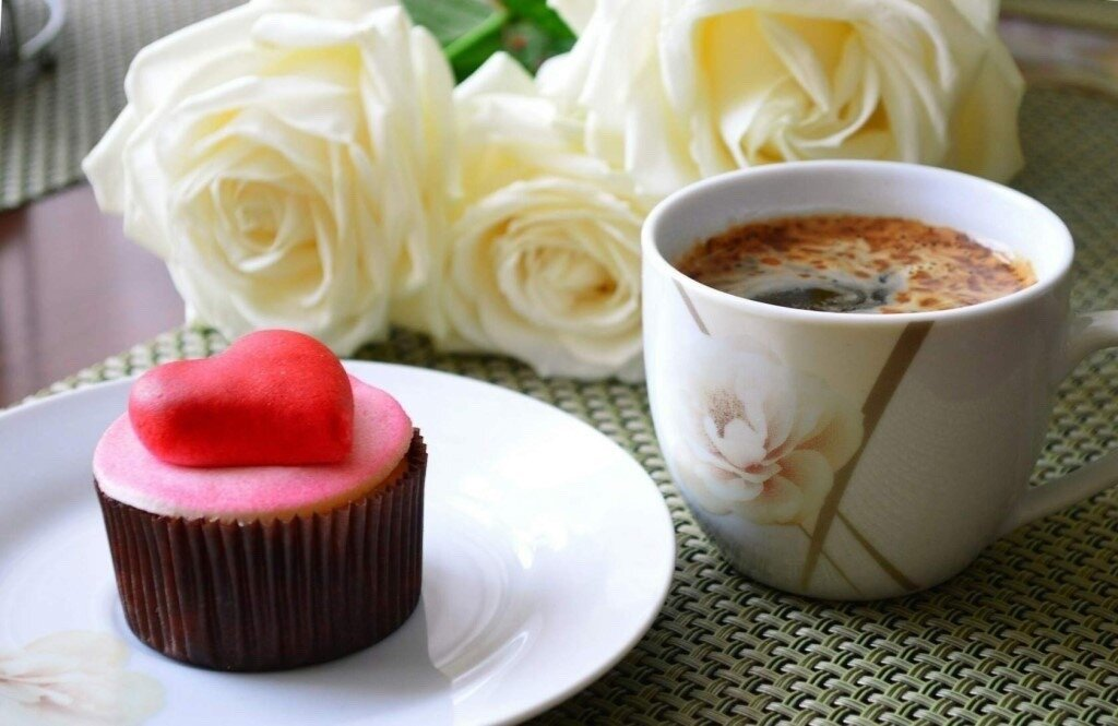 связать доброе утро кофе и розы фото сетевой техники