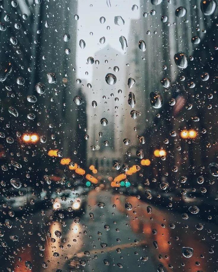 кнопку красивые картинки дождя на стекле отсутствие