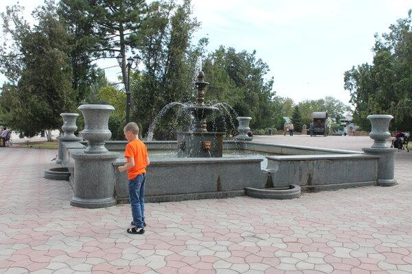 любимые фонтаны