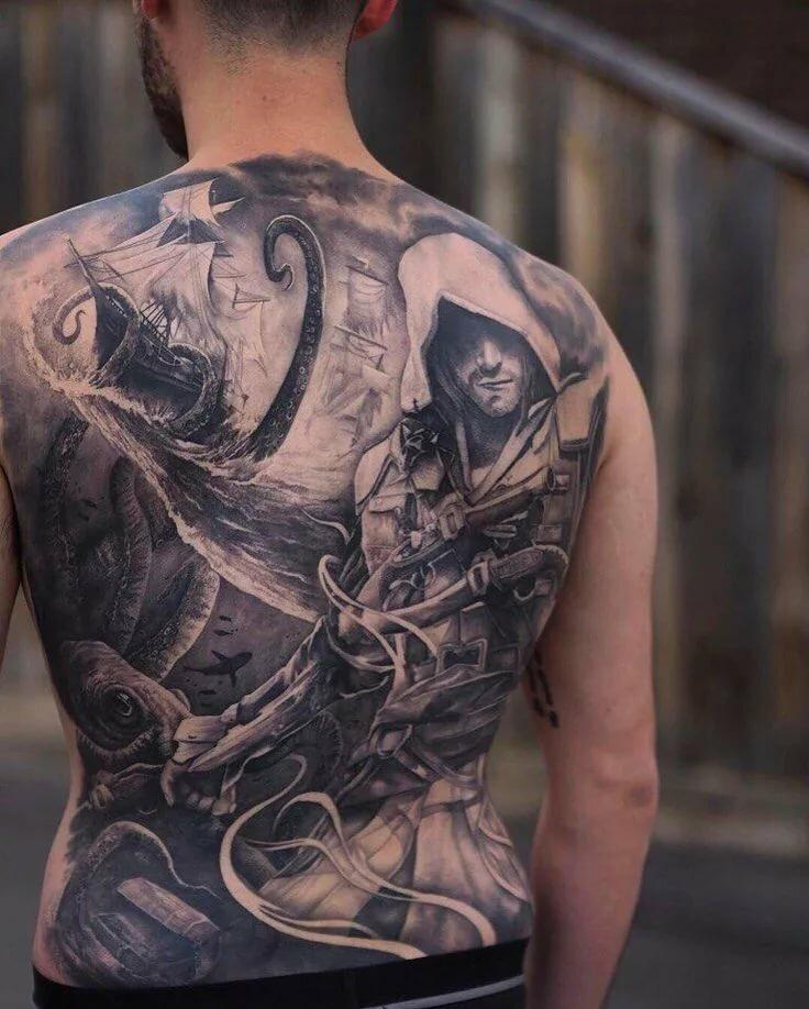 ремешок специальному картинки татуировок на всю спину нагревается