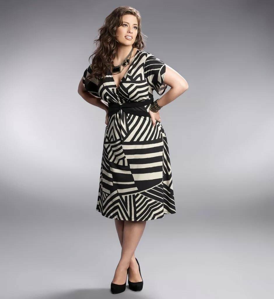 Фото толстушек в модной одежде