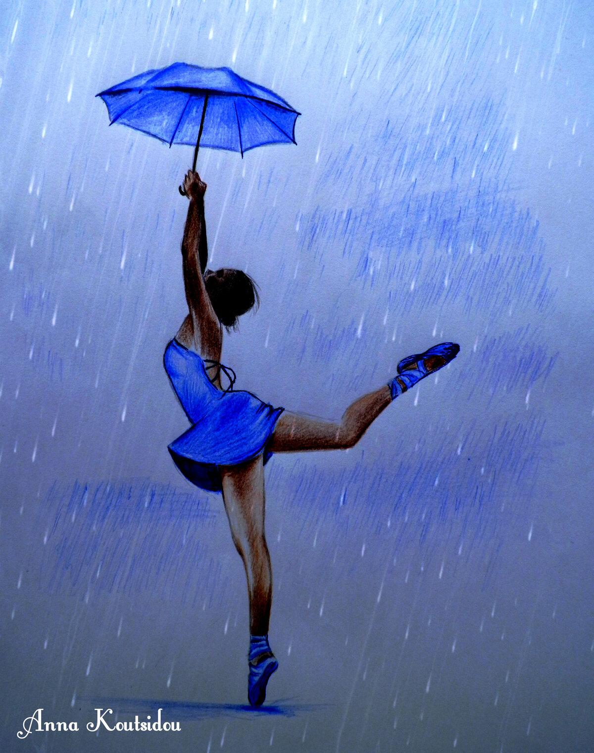 халате постер танцующие под дождем вот, канун