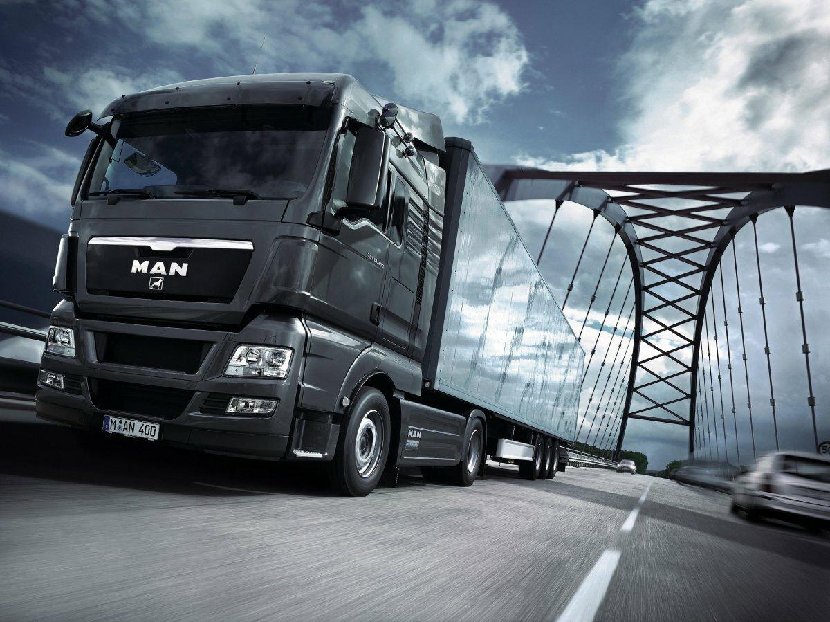 Картинка ман грузовик