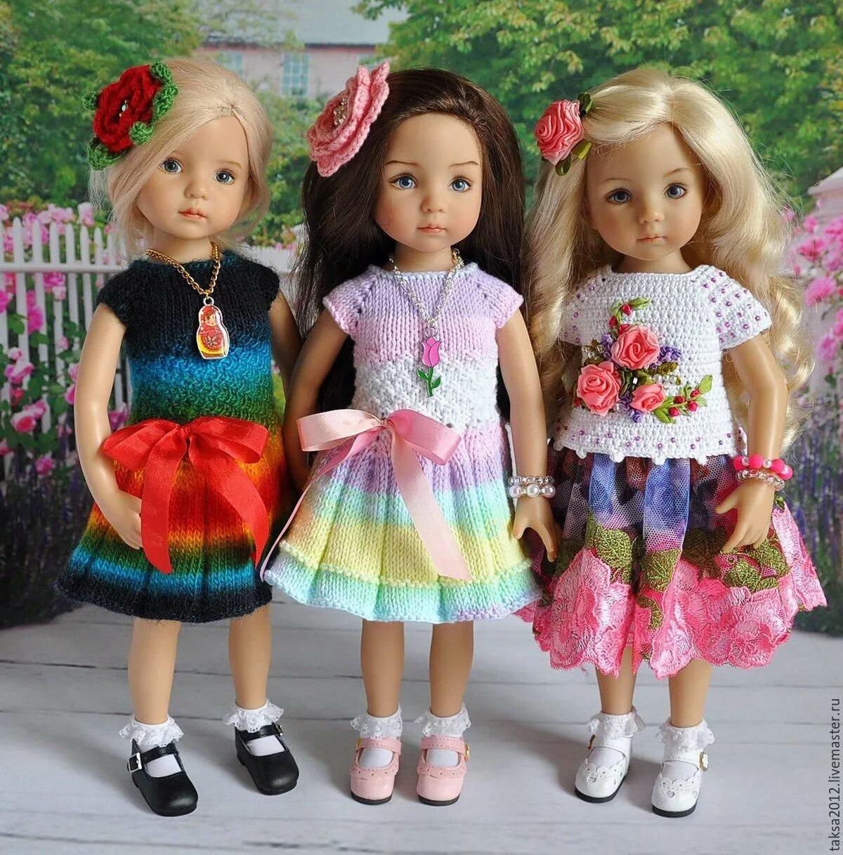 картинки несколько кукол