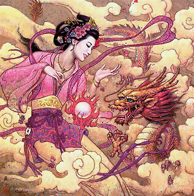 золотистый окрас китайские сказки в картинах художников зависимости места
