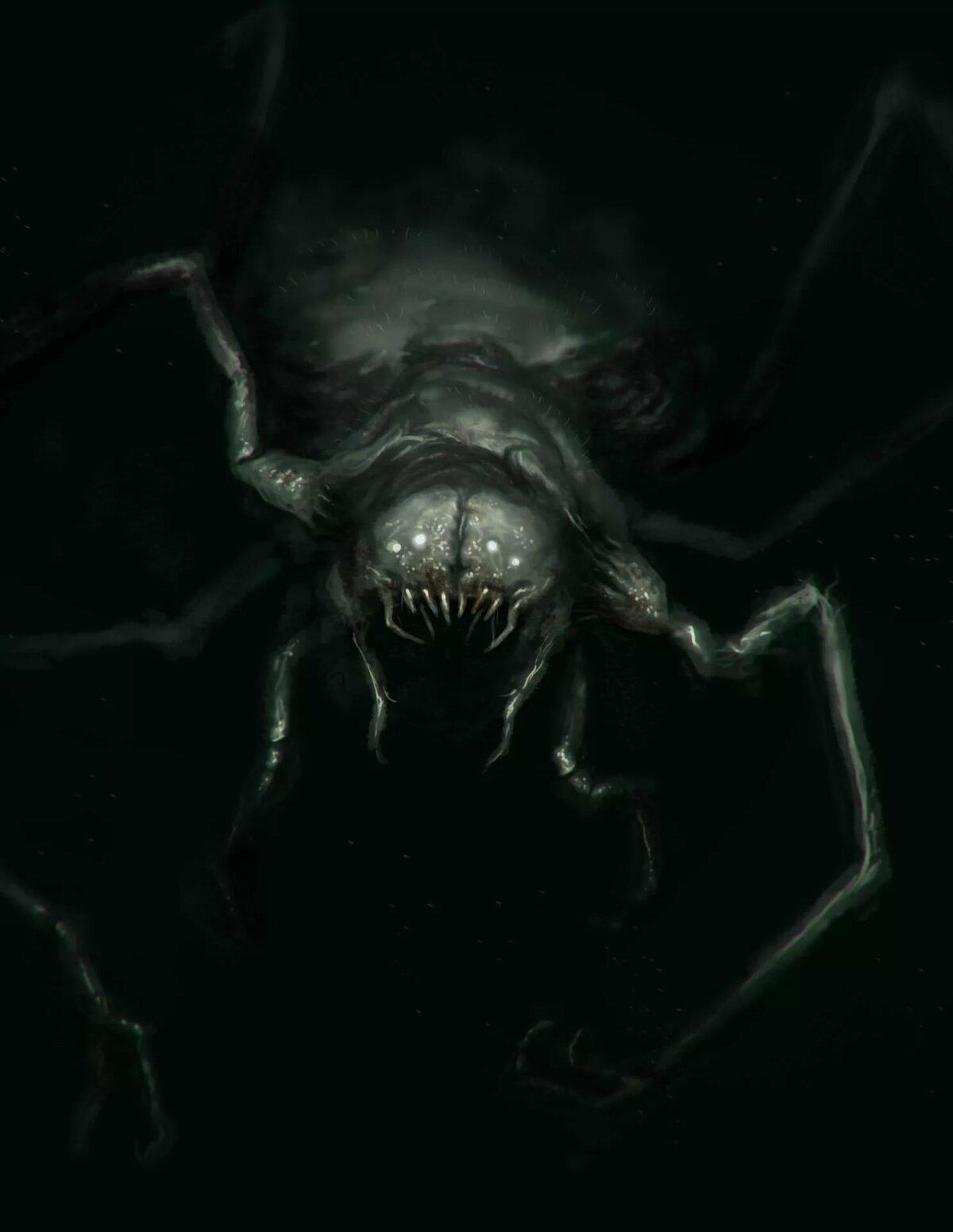 Монстры в темноте картинки