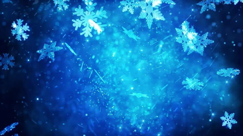 Картинки волшебные снежинки