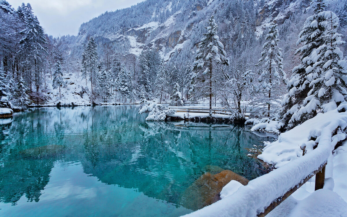 фотопроект горное озеро зимой фото только работающий реактор