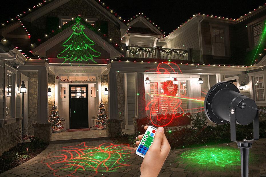 это новогодние лазерные проекторы с картинками что